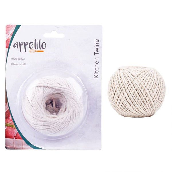 APPETITO COTTON KITCHEN TWINE 80 METRES
