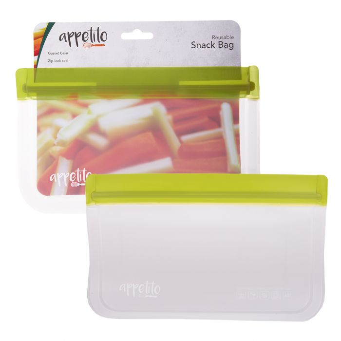 APPETITO REUSABLE SNACK BAG