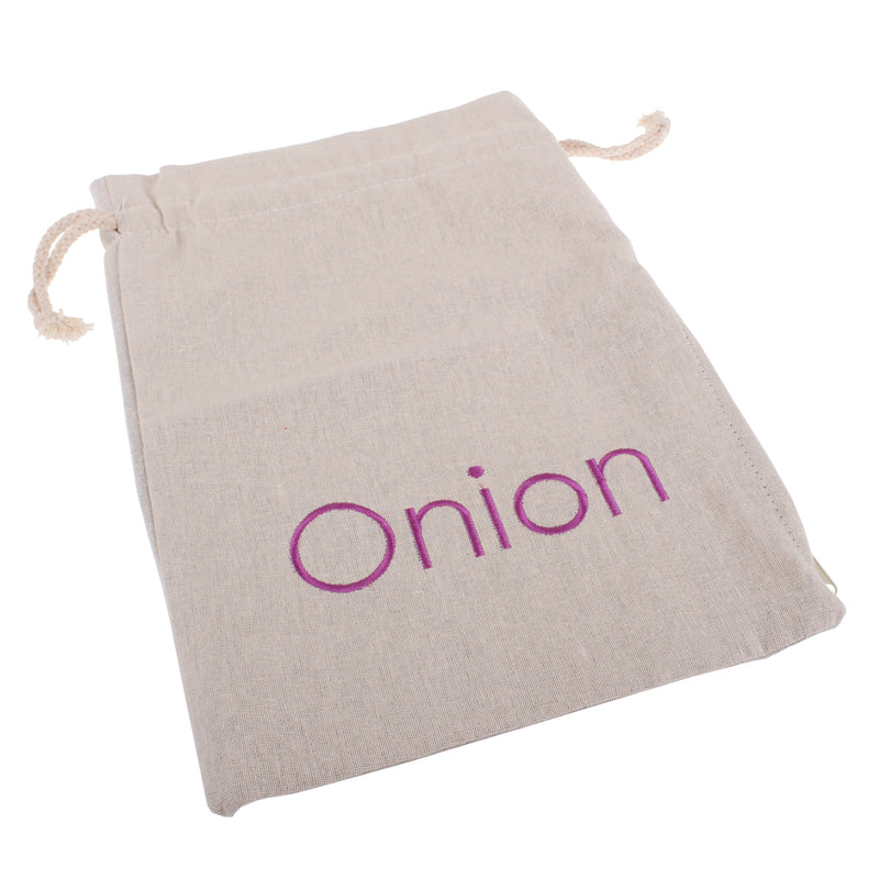 Appetito embroided onion bag 27.5 x 39cm