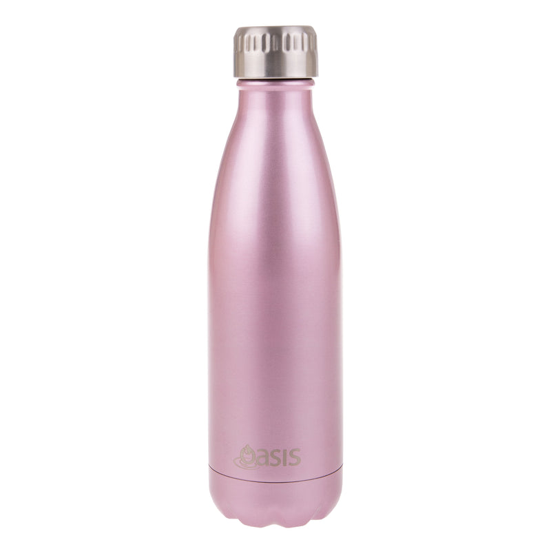 Oasis 500ml stainless steel insulated drink bottle
