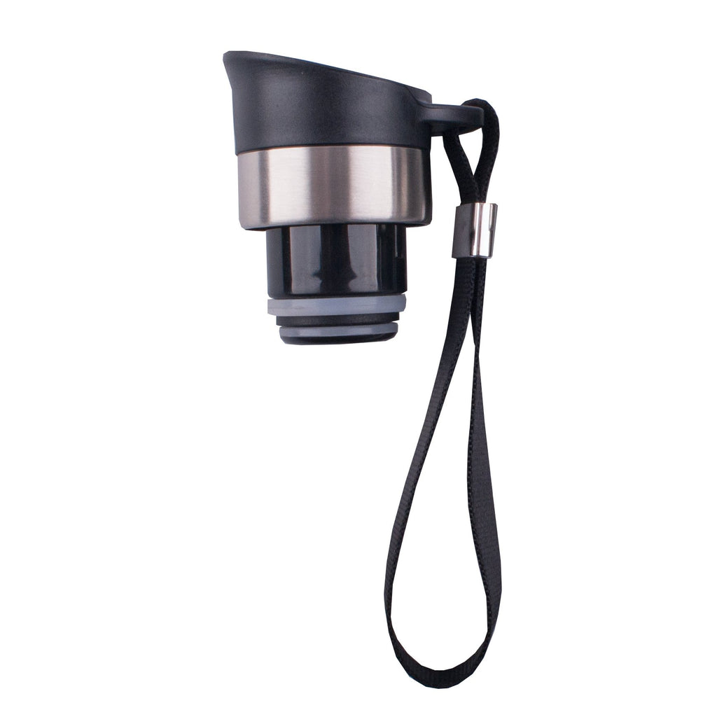 Oasis pour through stopper with carry strap