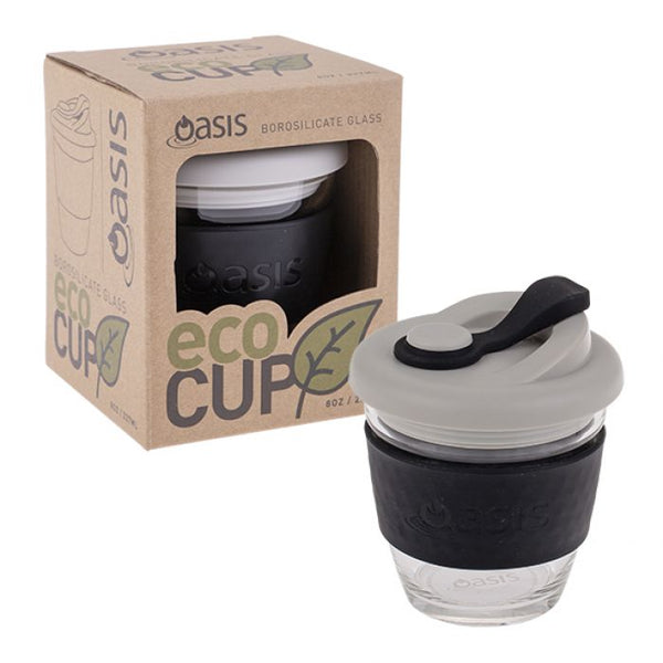 "OASIS BOROSILICATE GLASS ""ECO CUP"" 8OZ/227ML"