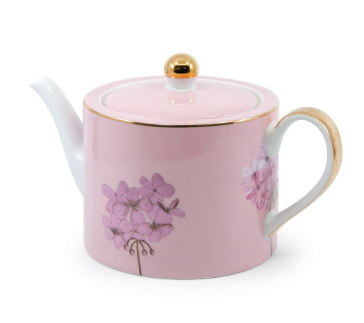 Christopher Vine High Tea Teapot Pink