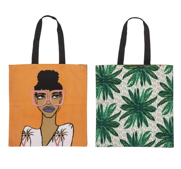 Jungle Queen Tote Bag