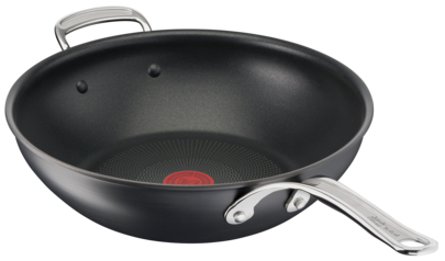 Jamie Oliver by Tefal Cooks Classic Induction Non-Stick Hard Anodised Wok 30cm