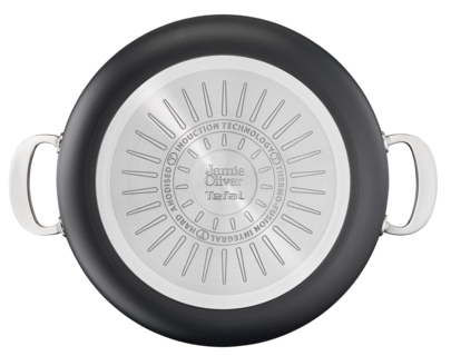 Jamie Oliver by Tefal Cooks Classic Induction Non-Stick Hard Anodised Shallowpan 30cm + lid