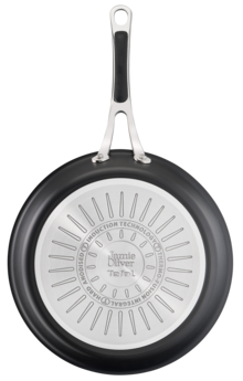 Jamie Oliver by Tefal Cooks Classic Induction Non-Stick Hard Anodised Twin Pack FP 24/28cm
