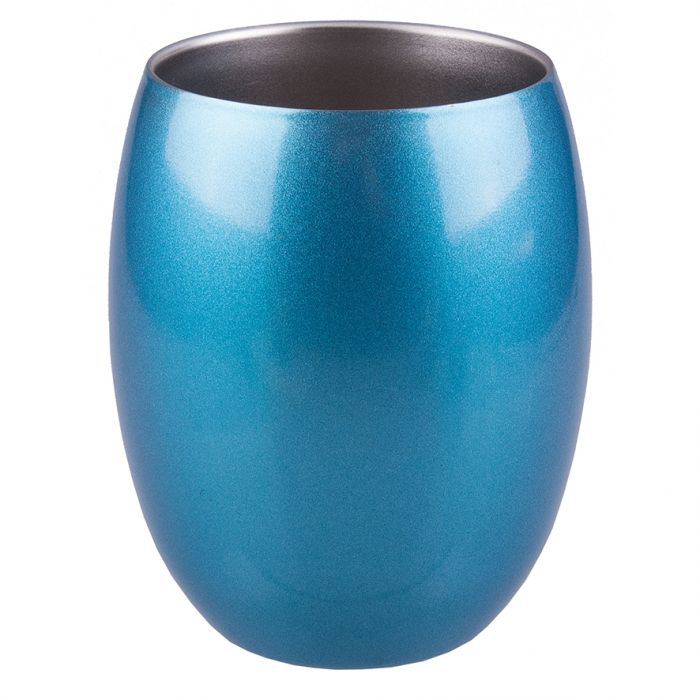 OASIS S/S DOUBLE WALL INSULATED TUMBLER 350ML - TOPAZ BLUE