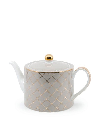 Christopher Vine High Tea teapot 1L - TAUPE