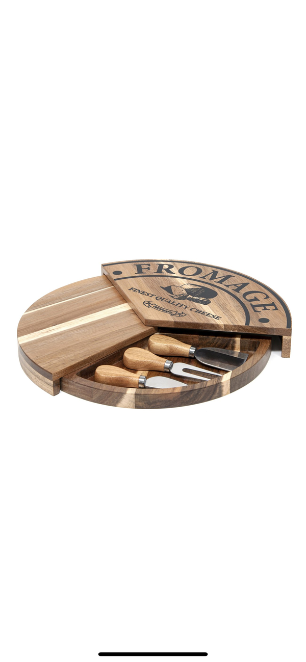 S&P Fromage Pivot Cheese Board Set
