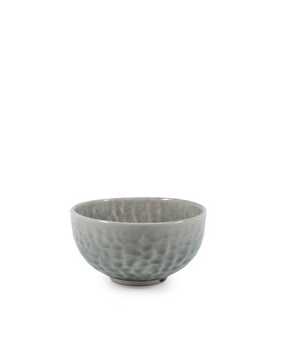 S&P D'SYLVA BOWL GREY CRACKLE 12X6CM