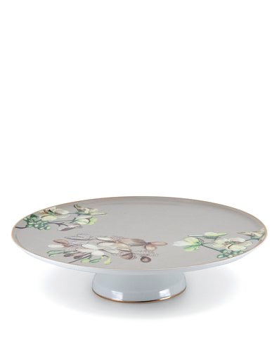 Christopher Vine High tea cake stand 30x7cm - TAUPE