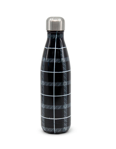 S&P HYDRA WATER BOTTLE PLAID 500ML