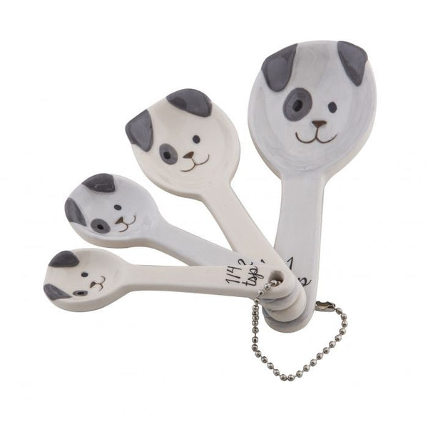 SPOTTY DOG MEASURING SPOONS SET 4PCE
