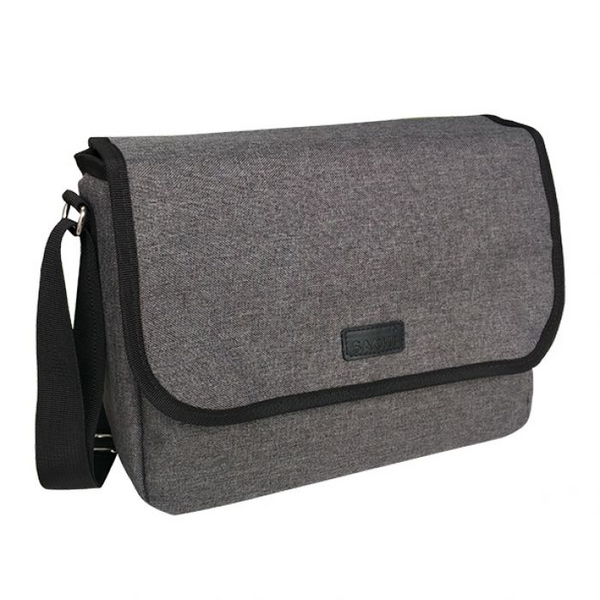 SACHI INSULATED LUNCH SATCHEL - CHARCOAL