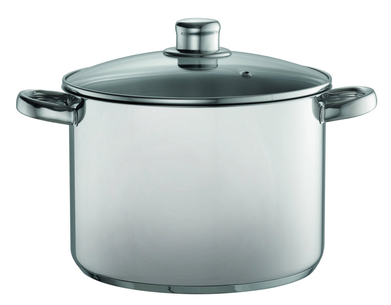 Davis & Waddell stainless steel stock pot 7.5L
