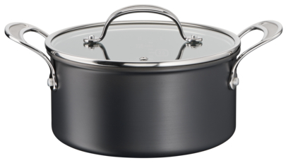Jamie Oliver by Tefal Cooks Classic Induction Non-Stick Hard Anodised Stewpot 24cm/5.4L+lid