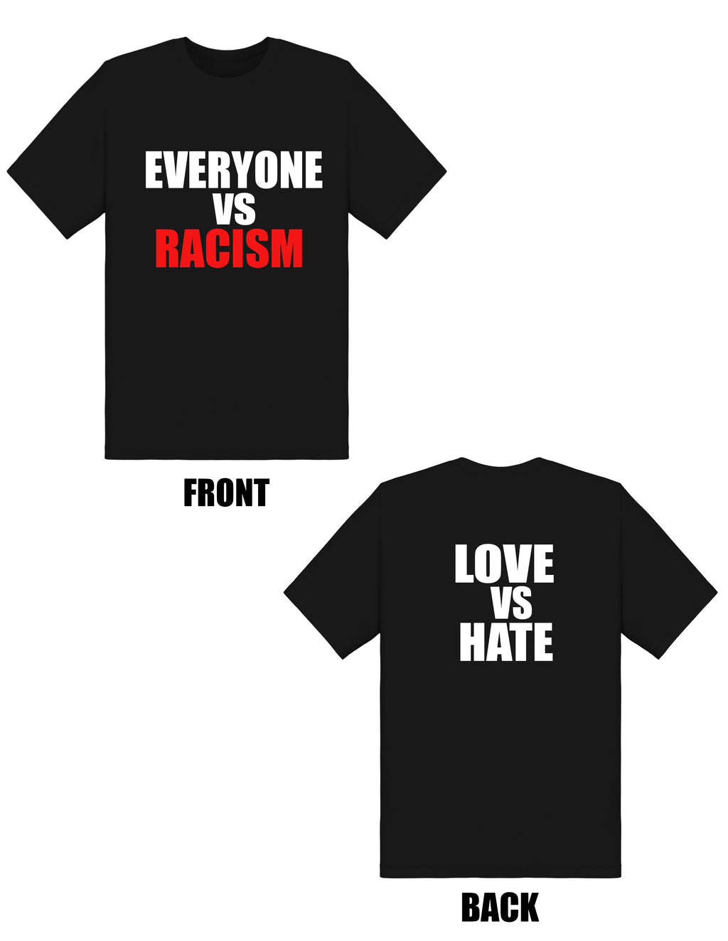 EVERYONE VS RACISM TEE