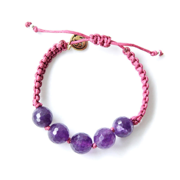 MY POWER Bracelet Amethyst Stone | Inspires Peaceful Intentions