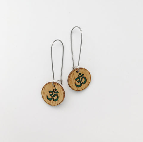 Dangle Earrings - OM