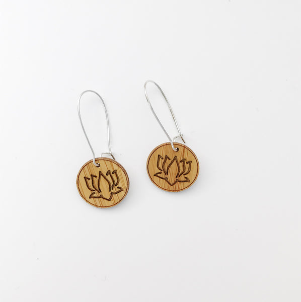 Dangle Earrings - Lotus