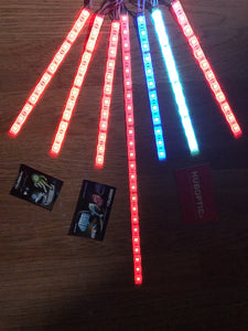 HUBOPTIC® Sound Reactive LED Strip DIY - Cosplay LED Lights for Projects Party Costume Gogo Dancer Robot Helmet Clothing