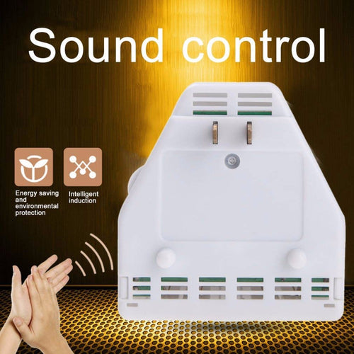 Universal Gadget sound activated on/off Switch Sensor Voice Control Activated Electronic Clap Switch