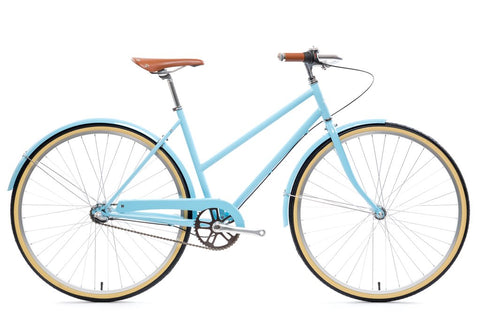 State Bicycle Co. - CITY BIKE - THE AZURE (3 SPEED)