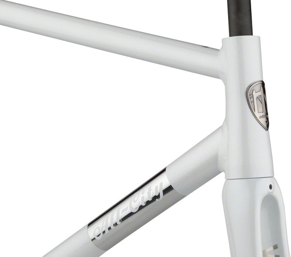 All City - Thunderdome Frameset Polished Pearl