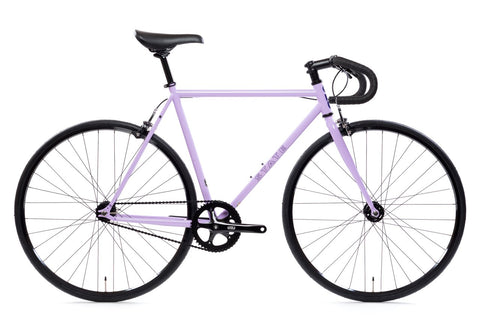 "State Bicycle Co. - 4130 - PERPLEXING PURPLE – DROP BARS - ""LO-PRO"" WHEELS - (FIXED GEAR / SINGLE-SPEED)"