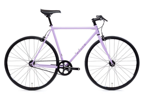 "State Bicycle Co. - 4130 - PERPLEXING PURPLE – RISER BARS - ""LO-PRO"" WHEELS - (FIXED GEAR / SINGLE-SPEED)"
