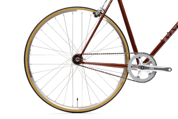 "State Bicycle Co. - 4130 - SOKOL - DROP BARS - ""LO-PRO"" WHEELS – (FIXED GEAR / SINGLE-SPEED)"