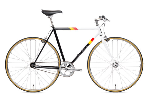 "State Bicycle Co. - 4130 - VAN DAMME – RISER BARS - ""LO-PRO' WHEELS - (FIXED GEAR / SINGLE-SPEED)"