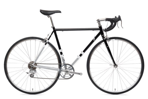 State Bicycle Co. - 4130 ROAD - BLACK & METALLIC - (8-SPEED)
