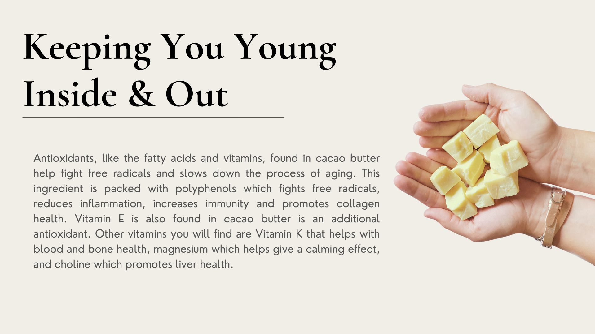 antioxidant stay young anti-aging healthy snack