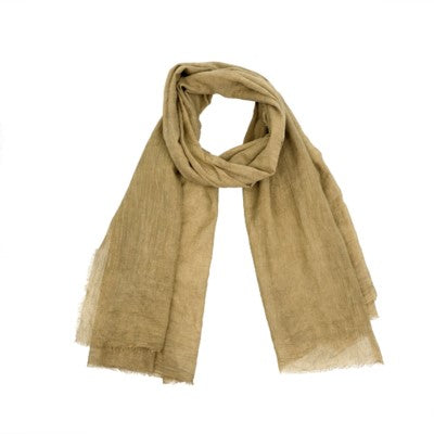 Antique Dye Scarf - Yoga - Dune - Petalino Flower Bar & Events