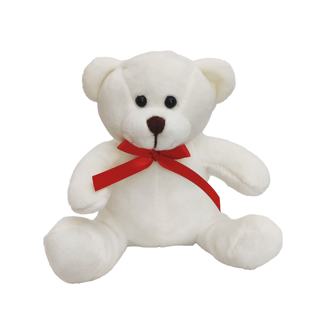 Mini Teddy Bear  Brown-White