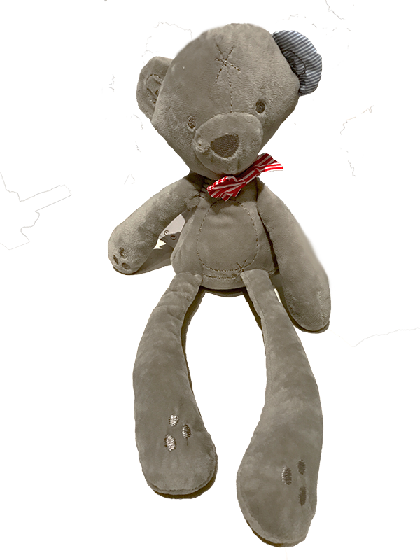 SOFT PLUSH TEDDY BEAR - Petalino Flower Bar & Events