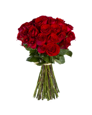 Red rose bouquet Valentines Day 2
