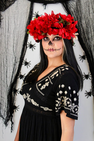 Day of the Dead costume. Easy costumes with normal clothes