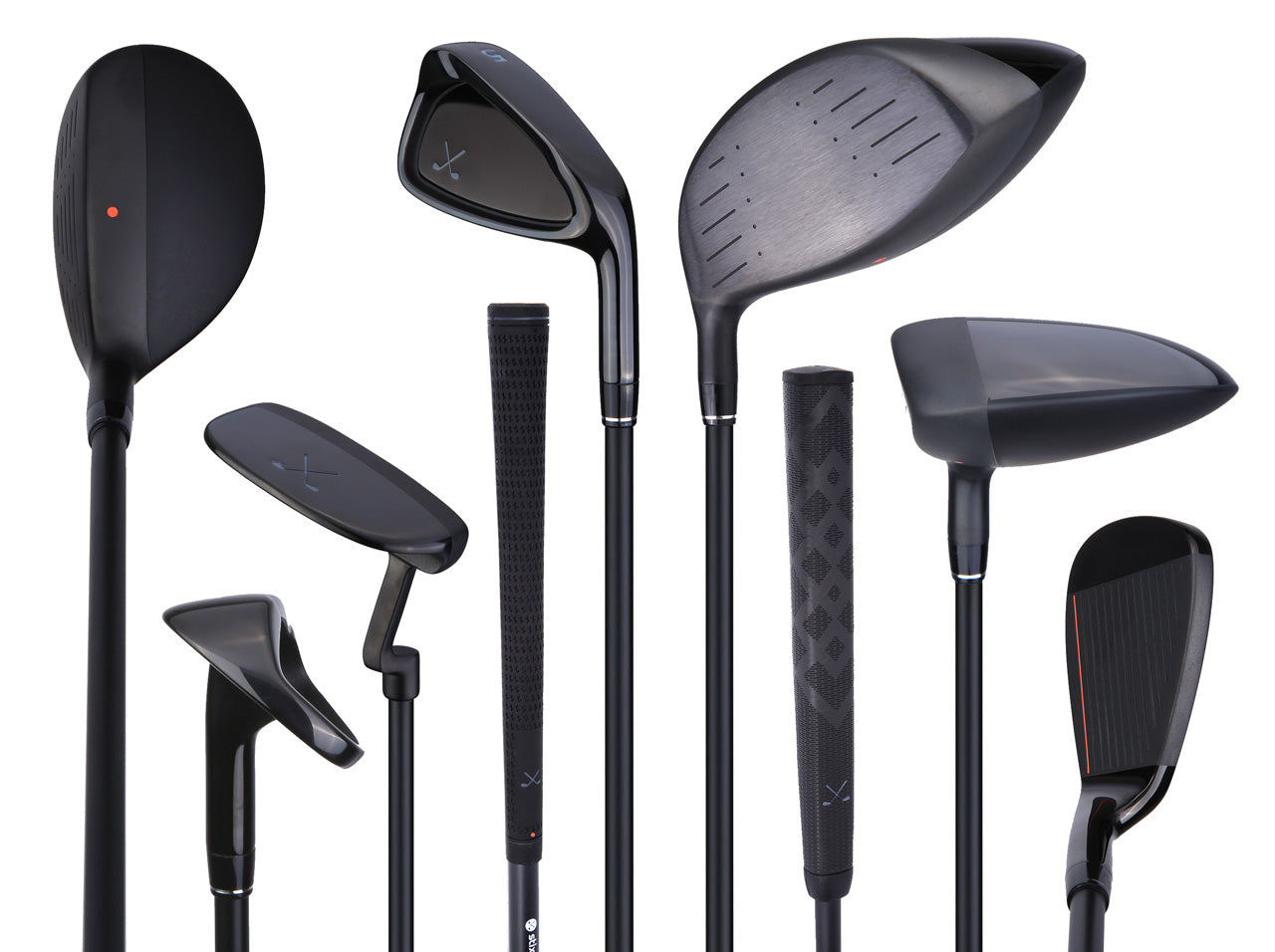 All Black 12-Piece Complete Golf Club Set | stix - Stix Golf