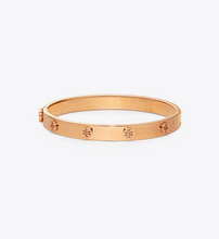 Load image into Gallery viewer, MILLER STUD HINGE BRACELET - TORY BURCH - ROSE GOLD