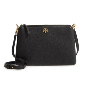 KIRA PEBBLED TOP-ZIP CROSSBODY