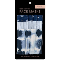 Load image into Gallery viewer, COTTON FACE MASK 3PC SET