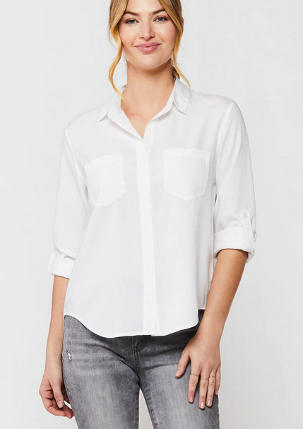 RILEY BUTTON-UP TOP