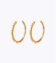 Load image into Gallery viewer, CORIOLIS LARGE HOOPS - GOLD