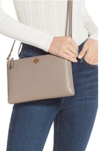 Load image into Gallery viewer, KIRA PEBBLED TOP-ZIP CROSSBODY