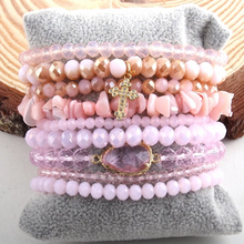 Load image into Gallery viewer, BEADED BRACELET STACK
