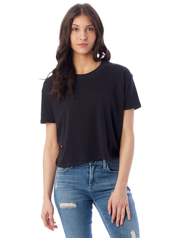 HEADLINER CROPPED T-SHIRT