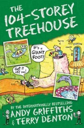 Andy Griffiths Heftet The 104-storey treehouse